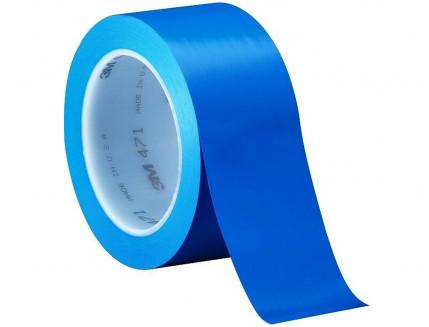 Лента виниловая скотч 3М Scotch 471 0,13 мм 50мм/33м синяя
