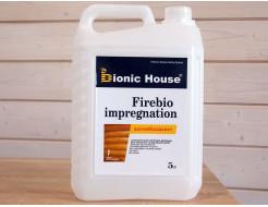 Пропитка для дерева Bionic House Firebio Impregnation антипирен - интернет-магазин tricolor.com.ua