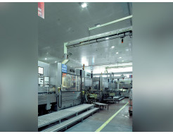 Акустическая влагостойкая гладкая плита Rockfon Industrial Opal 600x600x25 - интернет-магазин tricolor.com.ua