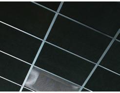 Акустическая влагостойкая гладкая плита Rockfon Industrial Black BF 2400x1200x40 - интернет-магазин tricolor.com.ua