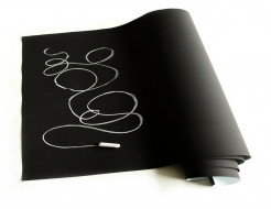 Меловая пленка Le Vanille PRO черная 1,37 м - интернет-магазин tricolor.com.ua