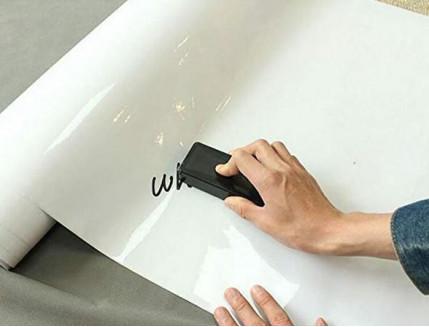 Маркерная пленка Le Vanille ECO белая 1,2 м - изображение 3 - интернет-магазин tricolor.com.ua