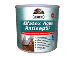 Декоративная пропитка-антисептик Dufatex Aqua Antiseptik Dufa (белая) - интернет-магазин tricolor.com.ua