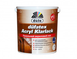 Панельный акриловый водорастворимый глянцевый лак Dufatex Acryl Klarlack Dufa