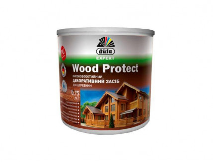 Пропитка декоративная DE Wood Protect Dufa (белая) - интернет-магазин tricolor.com.ua