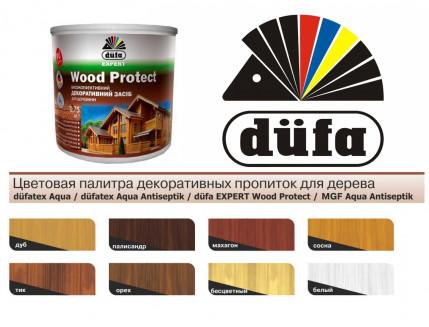 Пропитка декоративная DE Wood Protect Dufa (белая) - изображение 2 - интернет-магазин tricolor.com.ua
