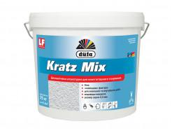 Штукатурка Kratz Mix 25 Dufa зерно 2,5 мм (белая)