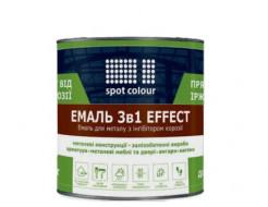 Грунт-эмаль антикоррозионная Spot Colour Effect 3 в 1 черная