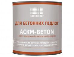 Краска для бетона Spot Colour АСКМ-Beton красная