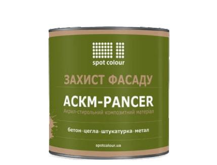 Краска фасадная Spot Colour АСКМ-Pancer желтая