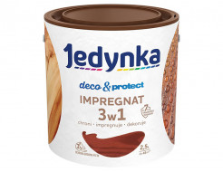 Пропитка-антисептик Jedynka Deco & Protect Impregnat 3 в 1 Американский махагон