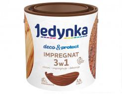 Пропитка-антисептик Jedynka Deco & Protect Impregnat 3 в 1 Азиатский тик - интернет-магазин tricolor.com.ua