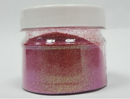 Купить Глиттер ирис радужный GTVIO/0,2 мм (1/128) фиолетовый Tricolor - 1