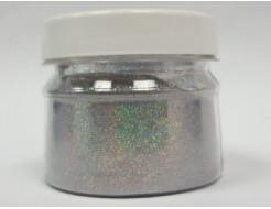 Купить Глиттер голографический GGS/0,2 мм (1/128) серебряный Tricolor