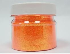 Купить Глиттер флуоресцентный GFO/0,2 мм (1/128) оранжевый Tricolor