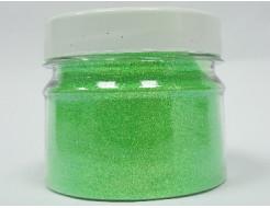 Глиттер флуоресцентный GFG/0,2 мм (1/128) зеленый Tricolor