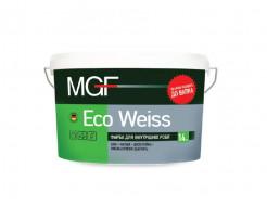 Краска для внутренних работ MGF Eco Weiss M1 белая матовая