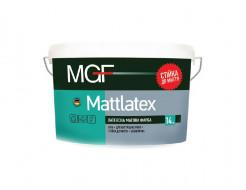Латексная матовая краска MGF Mattlatex M100 белая