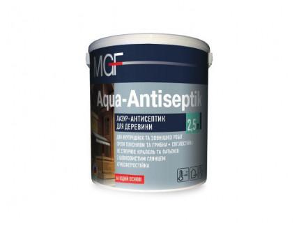 Лазурь-антисептик MGF Aqua-Antiseptik бесцветная - интернет-магазин tricolor.com.ua