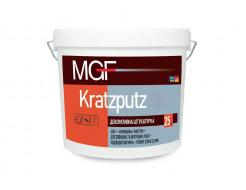 Штукатурка камешковая MGF Kratzputz 20 зерно 2,0 мм белая