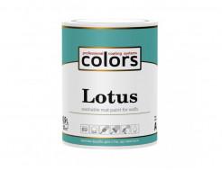 Латексная краска для внутренних работ COLORS Lotus матовая База C (под колеровку) - интернет-магазин tricolor.com.ua