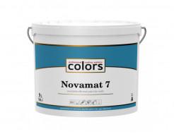 Акрилатная водоразбавляемая краска COLORS Novamat 7 шелковисто матовая База А - интернет-магазин tricolor.com.ua