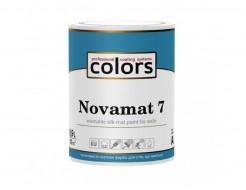 Акрилатная водоразбавляемая краска COLORS Novamat 7 шелковисто матовая База C (под колеровку) - интернет-магазин tricolor.com.ua
