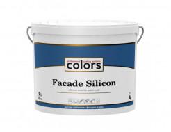 Силиконовая фасадная краска с добавкой силоксанов и силиконов COLORS Facade Silicon База А