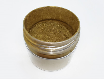 Пигмент металлик пудра старое золото Tricolor - изображение 2 - интернет-магазин tricolor.com.ua