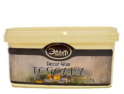 Воск защитный Эльф Decor Wax Toscana матовый