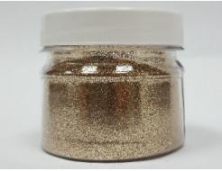 Купить Глиттер GBRW/0,2 мм  (1/128) светло-бронзовый Tricolor