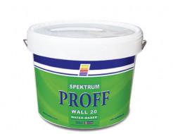 Краска моющаяся Spektrum Proff 20 PVA полуматовая база С прозрачная