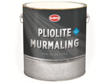 Краска фасадная плиолитовая Gjoco Pliolit Murmaling матовая база В полупрозрачная