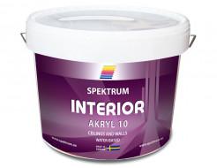 Краска акриловая Spektrum Interior 10 полуглянцевая база В полупрозрачная