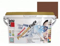 Затирка для швов эластичная Baumit PremiumFuge Dark brown Темно-коричневая - интернет-магазин tricolor.com.ua