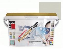 Затирка для швов эластичная Baumit PremiumFuge Gray Серая