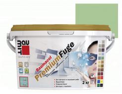 Затирка для швов эластичная Baumit PremiumFuge Light green Светло-зеленая - интернет-магазин tricolor.com.ua