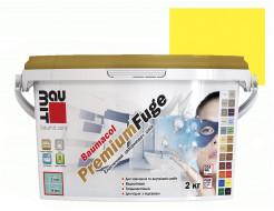 Затирка для швов эластичная Baumit PremiumFuge Yellow Желтая - интернет-магазин tricolor.com.ua