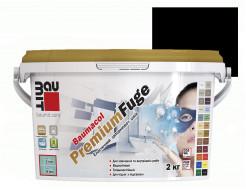Затирка для швов эластичная Baumit PremiumFuge Black Черная - интернет-магазин tricolor.com.ua