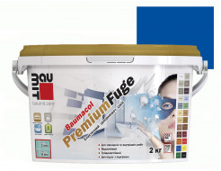Затирка для швов эластичная Baumit PremiumFuge Deep blue Синяя - интернет-магазин tricolor.com.ua