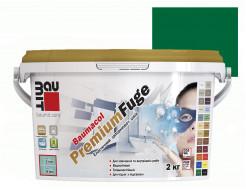 Затирка для швов эластичная Baumit PremiumFuge Green Зеленая - интернет-магазин tricolor.com.ua