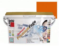 Затирка для швов эластичная Baumit PremiumFuge Orange Оранжевая - интернет-магазин tricolor.com.ua