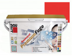 Затирка для швов эластичная Baumit PremiumFuge Red Красная - интернет-магазин tricolor.com.ua