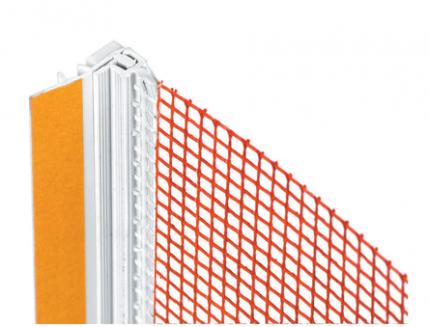 Профиль примыкающий Baumit FensteranschlussProfil Plus для откосов дверей и окон 2,6м