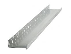 Профиль цокольный Baumit Sockel Aluminium алюминиевый с капельником 50мм*2,5м - интернет-магазин tricolor.com.ua