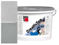 Штукатурка декоративная фасадная силиконовая Baumit CreativTop Fine 1 мм