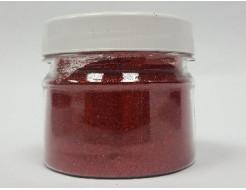 Глиттер голографический GG-04/0,2 мм (1/128) красный Tricolor