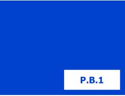 Пигмент органический синий lake Tricolor P.BLUE-1