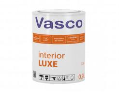Латексная матовая водоразбавляемая акриловая краска Vasco Interior LUXE База А - интернет-магазин tricolor.com.ua