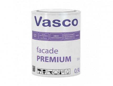 Матовая силоксановая водоразбавляемая фасадная краска Vasco Facade PREMIUM База C - интернет-магазин tricolor.com.ua